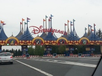 Car entrance into the 'Happiest Place on Earth'