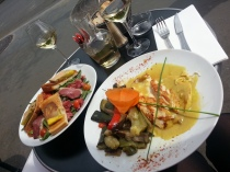 Delicious lunch in Paris