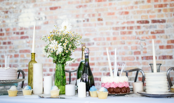 Party planning catering table